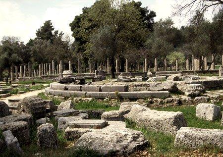 Olympia Ausgrabung