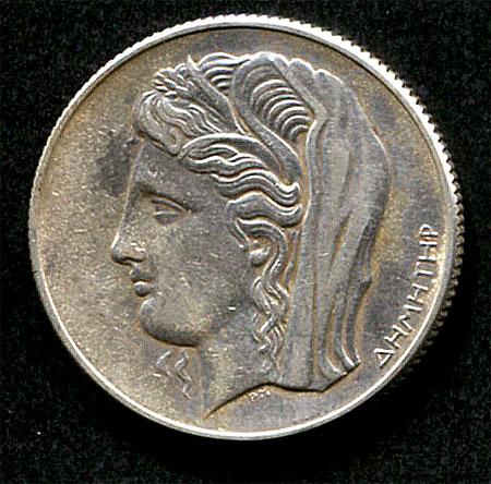 Demeter 10 Drachmen 1930