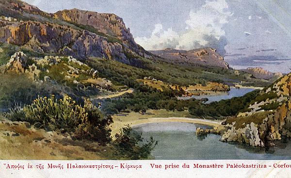 Korfu Moni Paleokastritsa