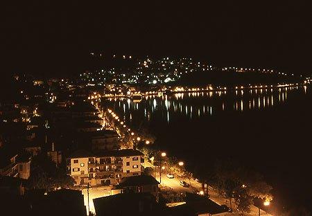 Filoxenia Kastoria nachts