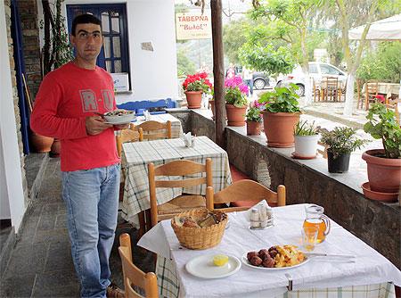 Tinos Taverne Volax