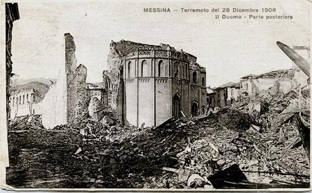 Messina Dom 1908