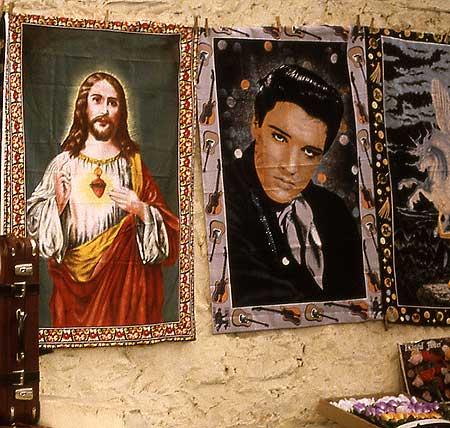 Jesus und Elvis