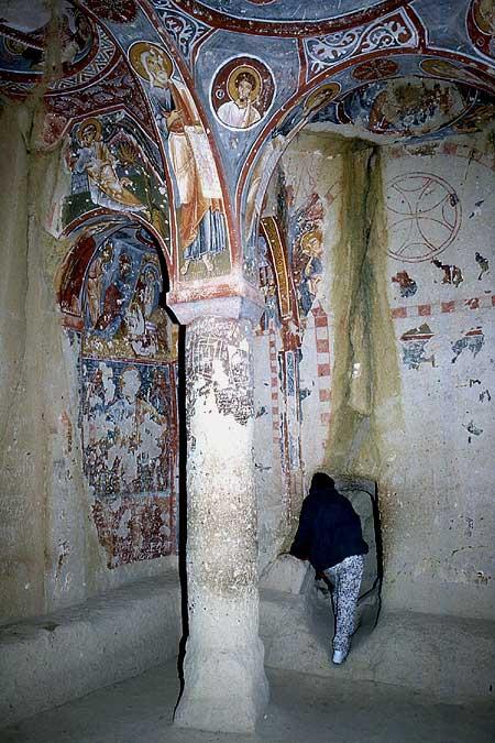 Elmali Kirche Korridor