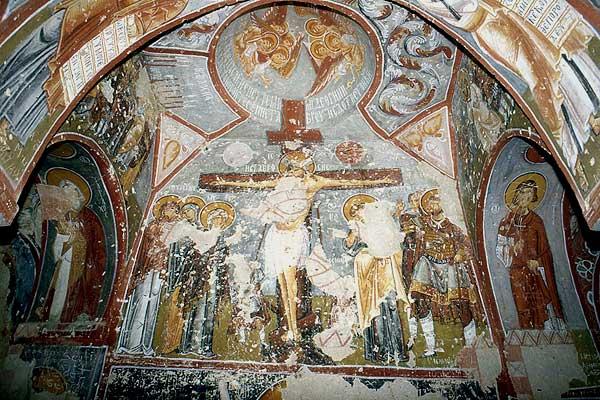 Göreme Elmali Kirche Fresko