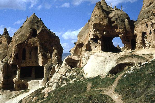Zelve Kirchen Hügel