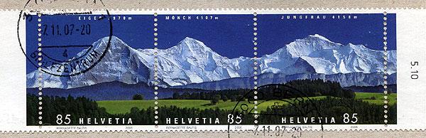 CH Briefmarken