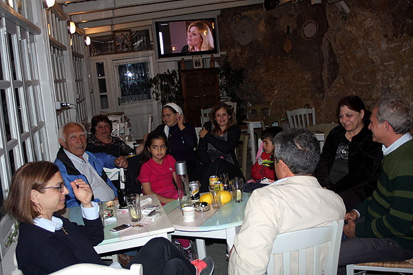Giannis Moskonas Familie