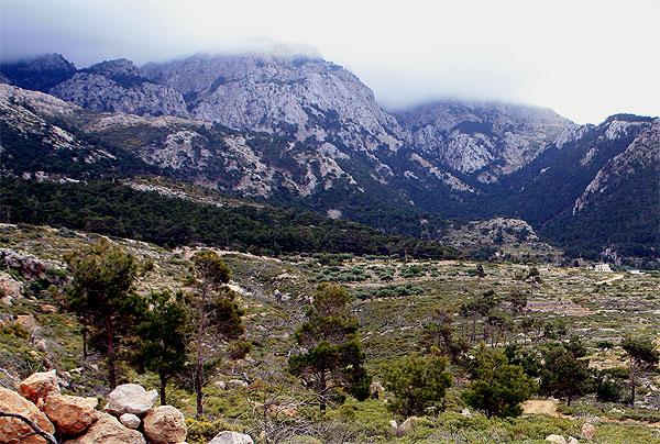 Kali Limni Bergkette