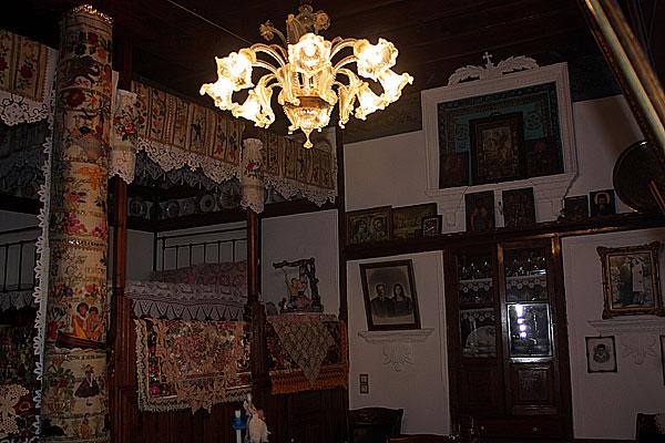 Mesochori Haus Echtlicht