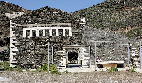 Vathy Karageorgis Sägewerk