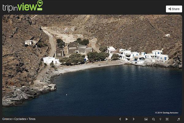 Luftbild Vathy Bucht