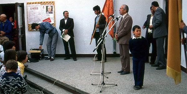 Kazanlak Parteiveranstaltung