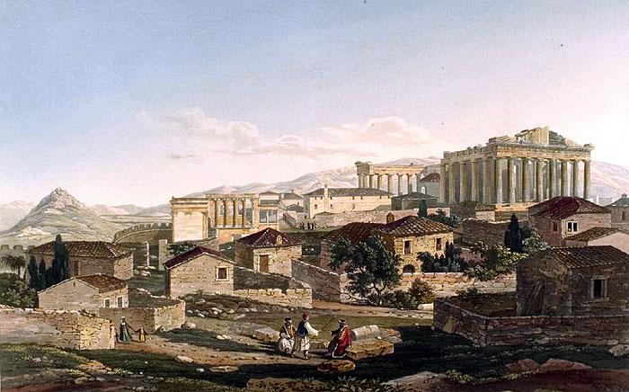 Dodwell Akropolis Athen