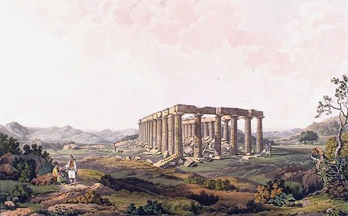Dodwell Tempel Bassae