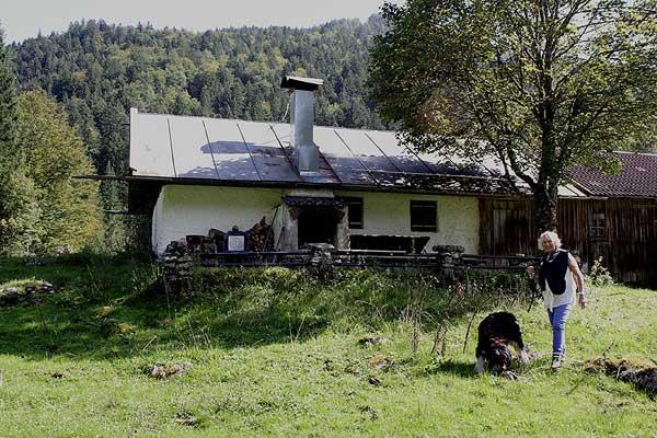 Rehgarabenalm Hütte