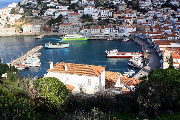 Hydra Hafen