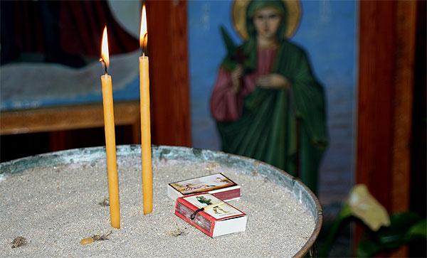 Kerzen Aghios Giorghis