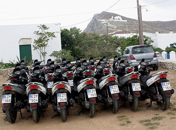 Folegandros Miet-Mopeds