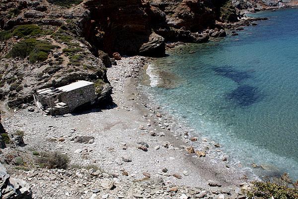 Fyra Bucht Folegandros