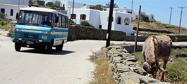 Folegandros Insel-Bus