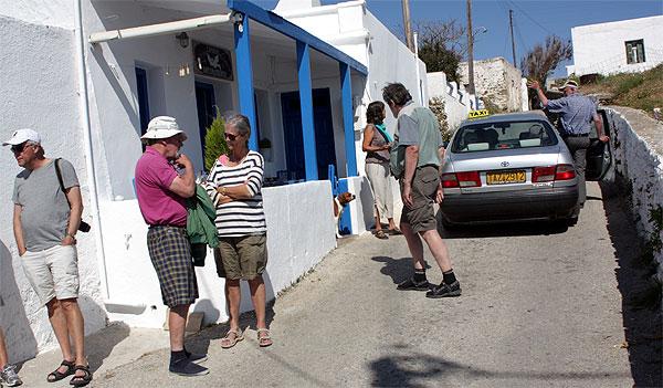 Folegandros Insel-Taxi