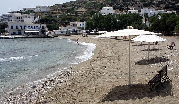 Alopronia Strand Sikinos