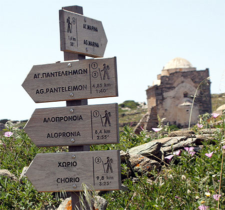 Wanderwege Episkopi