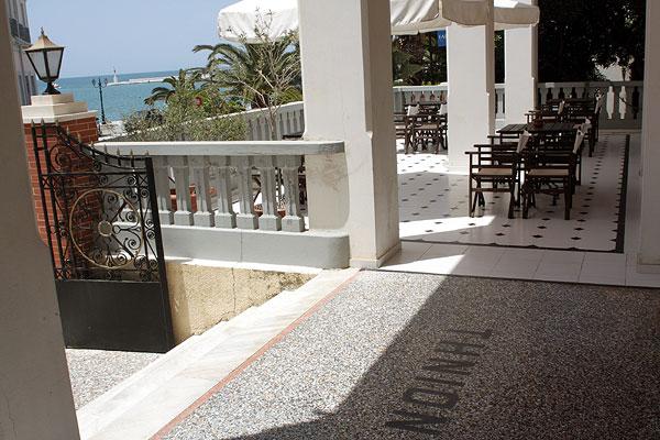 Tinion Hotel Terrasse