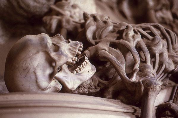 Staglieno der Tod