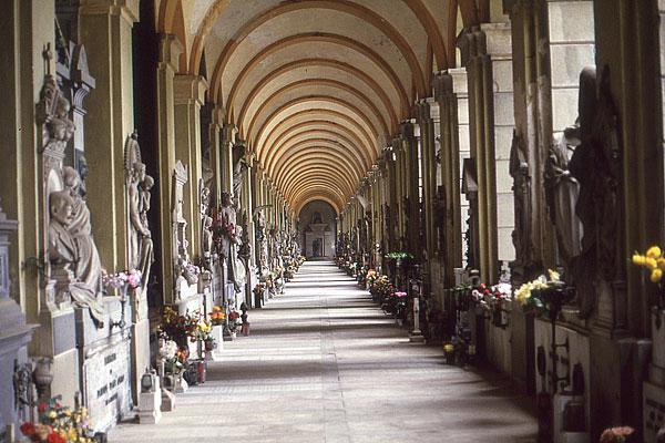 Staglieno Säulengang