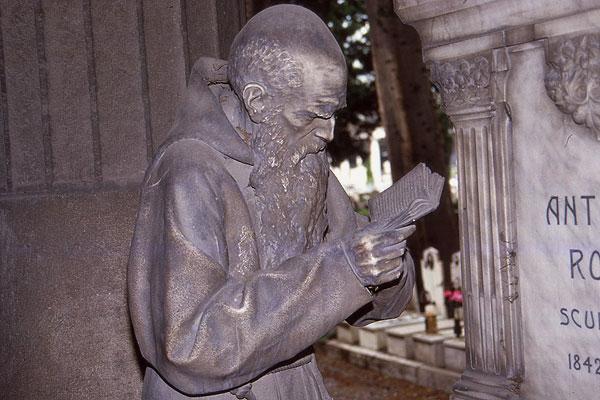 Staglieno Mönch