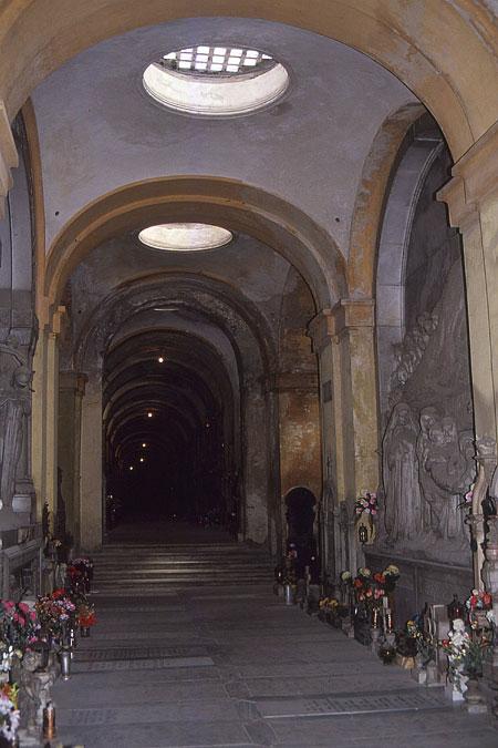 Staglieno untere Etage