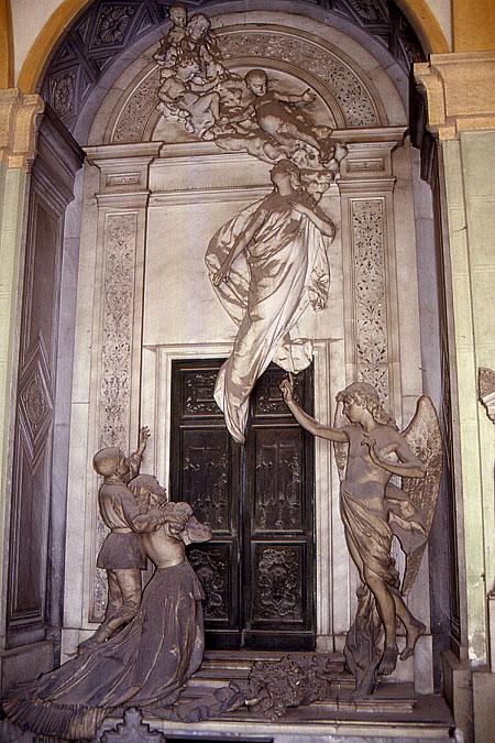 Staglieno Tor und Seele