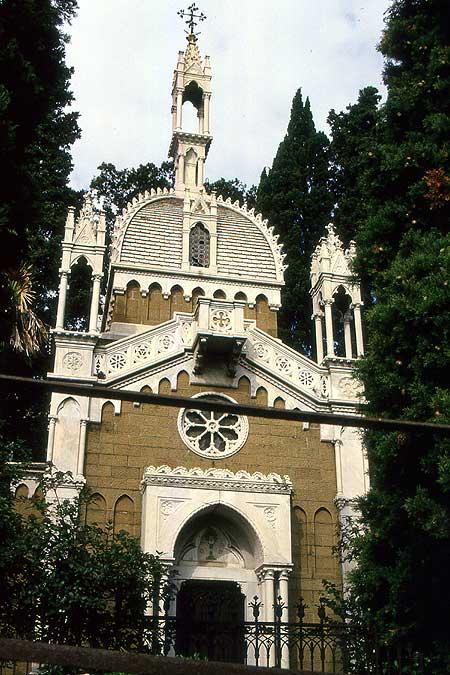 Staglieno boschetto Kapelle
