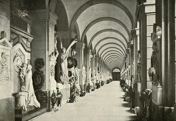 Säulengang altes Foto