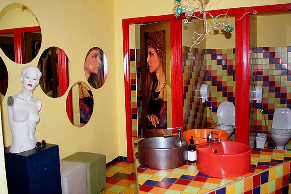La Brasserie, Toilette