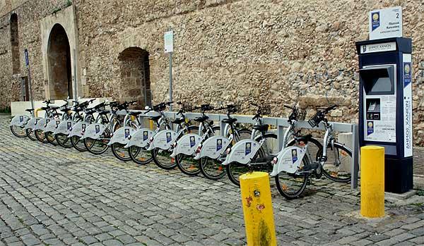 Chania Fahrradverleih