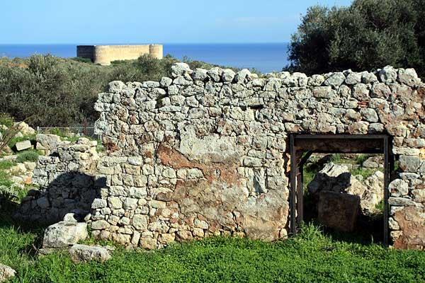 Aptera Izzedin Festung