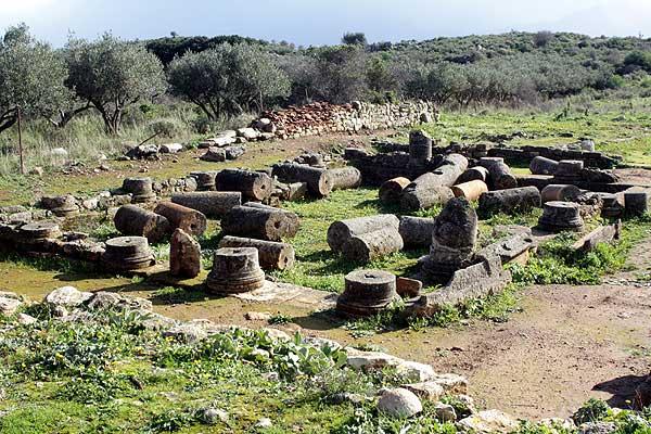 Aptera Villa mit Peristyl