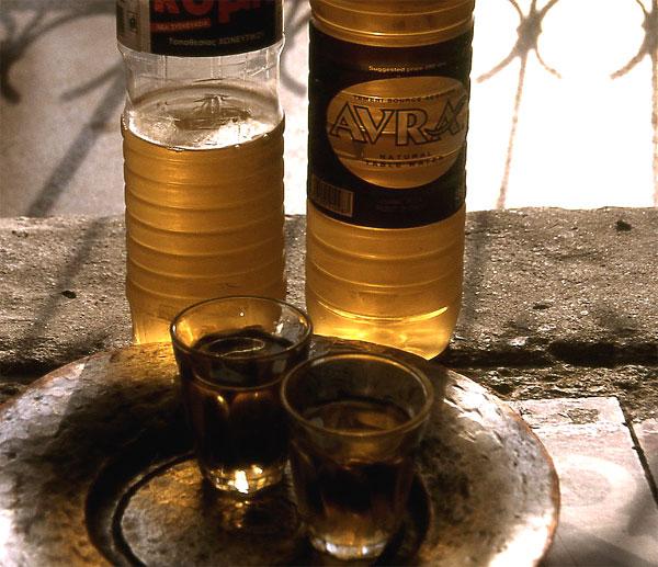Wein Wasser Skyros