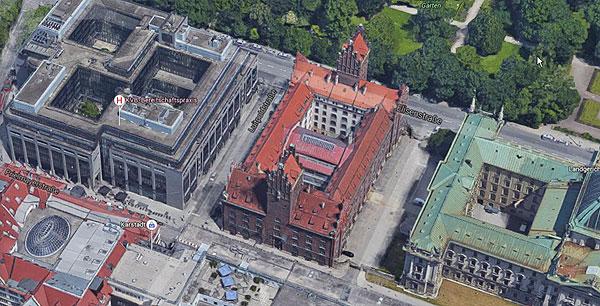 Luftbild Prielmayerstrasse