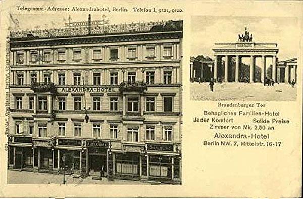 Hotel Alexandra Berlin