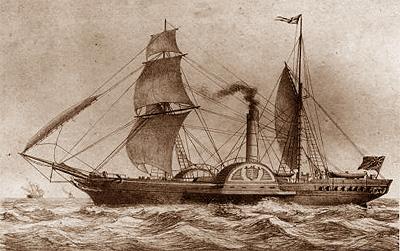 Dampfboot-Sirius-1837_A400